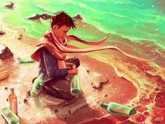 Poster | LONG MESSAGE SERVICE von Cyril Rolando | more posters at http://moreposter.de