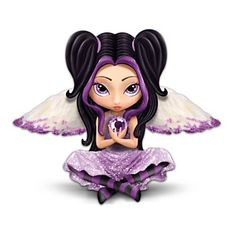 Jasmine Becket-Griffith's Spirit Maidens Figurine Collection | Enlarge Image Fantasy Art Angel Figurine Collection: Power Of The ...