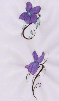 Google and recherche on pinterest - Tatouage pensee fleur ...