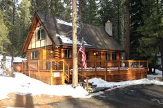 Woody's Cabin - vacation rental in South Lake Tahoe, California. View more: #SouthLakeTahoeCaliforniaVacationRentals
