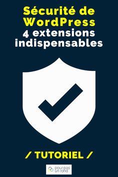 Découvre 4 extensions gratuites pour sécuriser ton site WordPress. Tu les paramètres facilement avec ce tutoriel détaillé. Ne perd plus une minute pour protéger ton site du piratage. #securité #wordpress #site #blog Site Wordpress, Minute, Extensions, Blog, Entrepreneurship, Tutorials, Tips, Board, Everything
