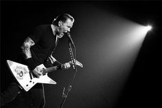 James Hatfield, Metallica - love the lighting and camera angle. Photo by RENÉ HUEMER