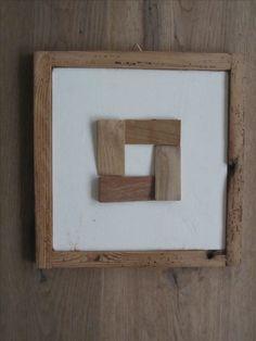 Modulo A4. Composizione con cunei utilizzati dai posatori di parquet