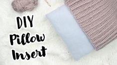 Sew or No Sew Tutorial Diy Throws, Diy Throw Pillows, Sewing Pillows, Pillow Tutorial, Diy Tutorial, Fabric Scissors, Crochet Pillow, Love Sewing, Sewing Basics
