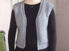 modele tricot gratuit gilet femme sans manches