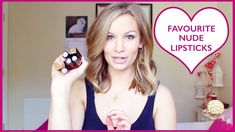 Favourite Nude Lipsticks! Make Me Up, How To Make, Nude Lipstick, Lipsticks, Watch, Youtube, Beauty, Clock, Lipstick