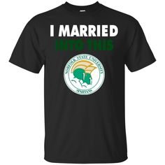 Norfolk State Spartans T shirts I Married Into This Hoodies Sweatshirts