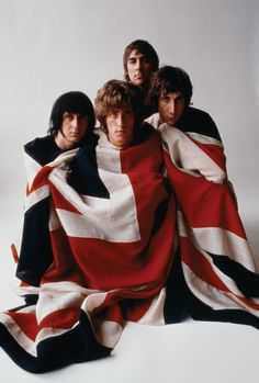 A classic poster of The Who - the iconic image of the band wrapped in the Union Jack British Flag! Check out the rest of our awesome selection of The Who posters! Need Poster Mounts. Rock Posters, Concert Posters, Band Posters, Pop Rock, Rock N Roll, Pink Floyd, Rock Music, My Music, Vintage Music Posters