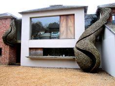 Environmental Art   Organic Structures   Roche Court   Laura Ellen Bacon