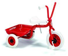 Winther trehjulet. 510,-. Fås også her: http://www.br.dk/vores-kategorier/leg-paa-hjul-loebehjul-rulleskoejter-og-andet/trehjulede-cykler/winther-trehjulet-cykel?id=900301&vid=591733