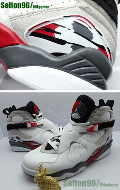 f38487130b5 2013 Air Jordan 8 Retro Bugs Bunny Sneaker (New Images + Release Info)  Latest