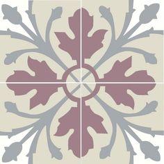 Motifs: Les Pastels | Carreaux de ciment et carrelage Cimenterie de la Tour: carreau fait main