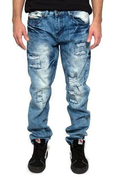 2024 Slim Fit Ripped Jeans for Men   Streetwear by Fashion X Freedom