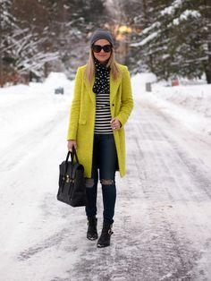 StyleUp:  I love everything about this winter outfit, except those jeans.