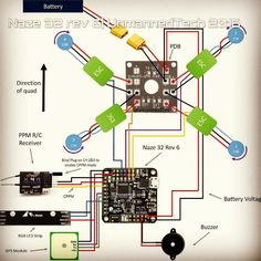 12 Best Fpv Drones S On Pinterest Aerial Drone And. Naze 32 Rev 6 Connection Diagram Naze32 Cleanflight Baseflight Dronestagram Build. Wiring. Ghost Drone Wiring Diagram At Scoala.co