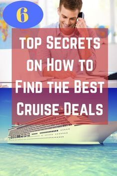 Finding a cruise deal is often a combination of timing, planning, and just good luck. What constitutes a deal is often a matter of perception. Sometimes it's just getting a free cabin upgrade to a higher deck on the ship or moving you to an ocean view or balcony cabin because you have booked a cabin category guarantee. So get the  top secrets on how to find the best cruise deals Best Vacation Spots, Vacation Ideas, High Deck, Best Cruise Deals, Vacations To Go, Travel Essentials, Perception, Cool Places To Visit, Family Travel