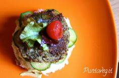 mini burger di lenticchie