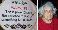 10+ Times Cross Stitches Were So Badass, They Were Perfect For 21st Century | Bored Panda