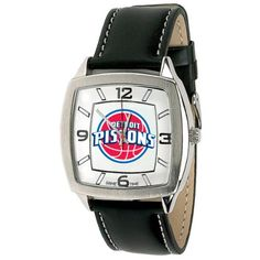 Game Time Mens NBA Retro Series Watch  Detroit Pistons * Visit the image link more details.