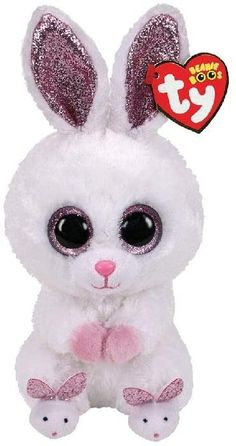 Ty Beanie Boos Collection, Ty Peluche, Ty Stuffed Animals, Stuffed Toys, Soft Toys Making, Unicorn Room Decor, Rabbit Toys, Cute Plush, Toys For Girls