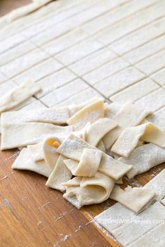 Rolling out homemade dumplings is quick and easy! They're the perfect addition to this old fashioned chicken and dumplings recipe! Rolled Dumplings Recipe, Old Fashioned Chicken And Dumplings Recipe, Homemade Chicken And Dumplings, Homemade Biscuits, Dumpling Recipe, Chicken Dumplings, Chicken And Dumpling Noodles Recipe, Gluten Free Chicken And Dumplings Recipe, Homemade Soup