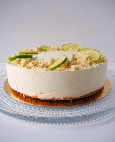 Maailman paras limejuustokakku nopeasti ja vaivattomasti Cheesecake, Desserts, Food, Meal, Cheesecakes, Deserts, Essen, Hoods, Dessert