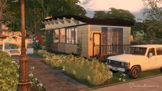 - 115 House on weels house for The Sims 4