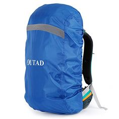OUTAD Waterproof Backpack Rain Cover With Reflective Strip ** Find out more about the great product at the image link.