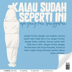 Reminder Quotes, Self Reminder, Daily Reminder, Islamic Inspirational Quotes, Islamic Quotes, Quotes Indonesia, Muslim Quotes, Quran, Cool Words
