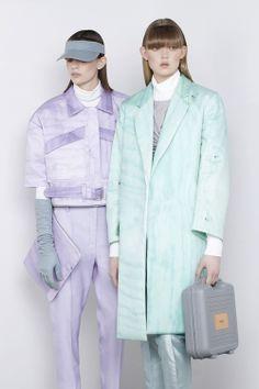 Lilac suit & mint coat #SS14