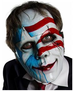 Halloween Kostüm, Masks, Blue, Fictional Characters, Design, Products, Accessories, Serial Killers, American Flag