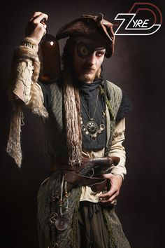 Pirate by D-Zyre! PHOTOGRAPHY: D-Zyre STYLING: D-Zyre MUA: D-Zyre MODEL: Peter de Haas