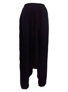 Boho Black Harem Gypsy Pants – 365 Days Of Resort Wear Gypsy Pants, Travel Pants, Resort Wear, Boho Outfits, Harem Pants, Beach, How To Wear, Clothes, Fashion