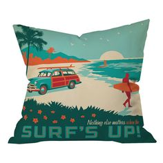 I pinned this Anderson Design Group Surfs Up Pillow from the DENY Designs event at Joss and Main!