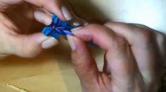 Mini Rainbow loom Fish Tale náramek česky gumičkování