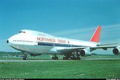 Northwest Orient Airlines Boeing 747-251B