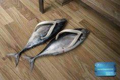 Fish style footwear