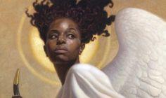 Black Is Beautiful, Beautiful People, Angel Aesthetic, Black Art, Black Girls, Bunt, Character Inspiration, Art Reference, Portrait