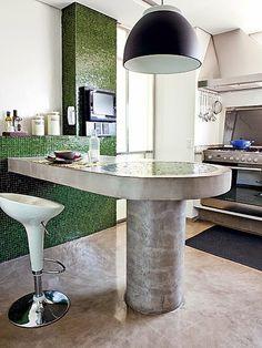 Casinha colorida: Truques para transformar a sua cozinha