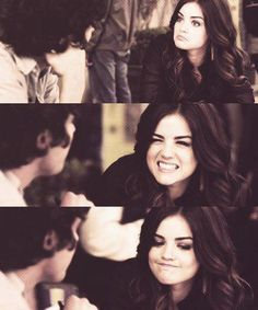 Pretty Little Liars - ARIA and her facial expressions haha
