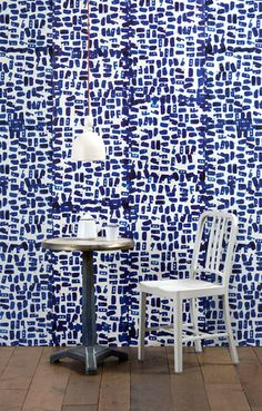 "Paola Navone uses the color blue constantly, be it for dinnerware or tiles, sofas or sconces. Her collection ""Obsession"" is an ode to the hue. Features - Addiction collection - Designed by Paola Navon"