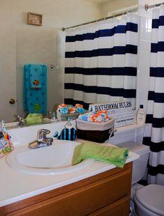 Beach/ocean Themed Bathroom For Kids. Always Loved The Beach Theme!