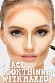 Want to make your face look thinner without embarking on a crazy diet? Makeup has been used for centuries to cover imperfections, but also to sculpt the face in unimaginable ways. Try the following makeup tips which can make your face and body look slimmer!