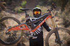 Tyler McCaul at Redbull Rampage 2012