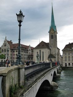 Zurich...best city in the world to live in