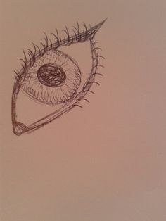 I guess I drew an eye XD