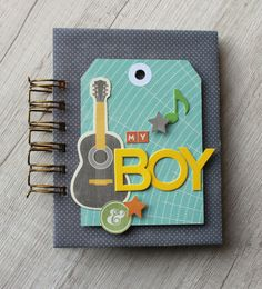 Minialbum: My Boy for Jillibean Soup - Caroli Schulz Scrapbook Crafts Mini Scrapbook Albums, Baby Scrapbook, Mini Albums, Handmade Sheet, Baby Mini Album, Matchbox Crafts, Scrapbook Layout Sketches, Diy Notebook, Kindergarten Art