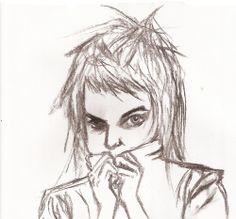 sketch bizarro on Die Antwoord's Yolandi Vi$$er