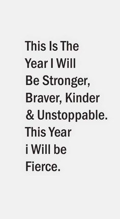 Starting today. Cuz so far 2016 has been more brutal than I knew possible...