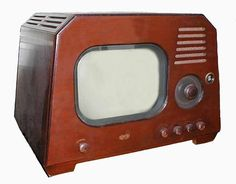 """1947   1947 DuMont - Model RA-103 - Chatham (Called the """"Dog-House"""" by ..."""